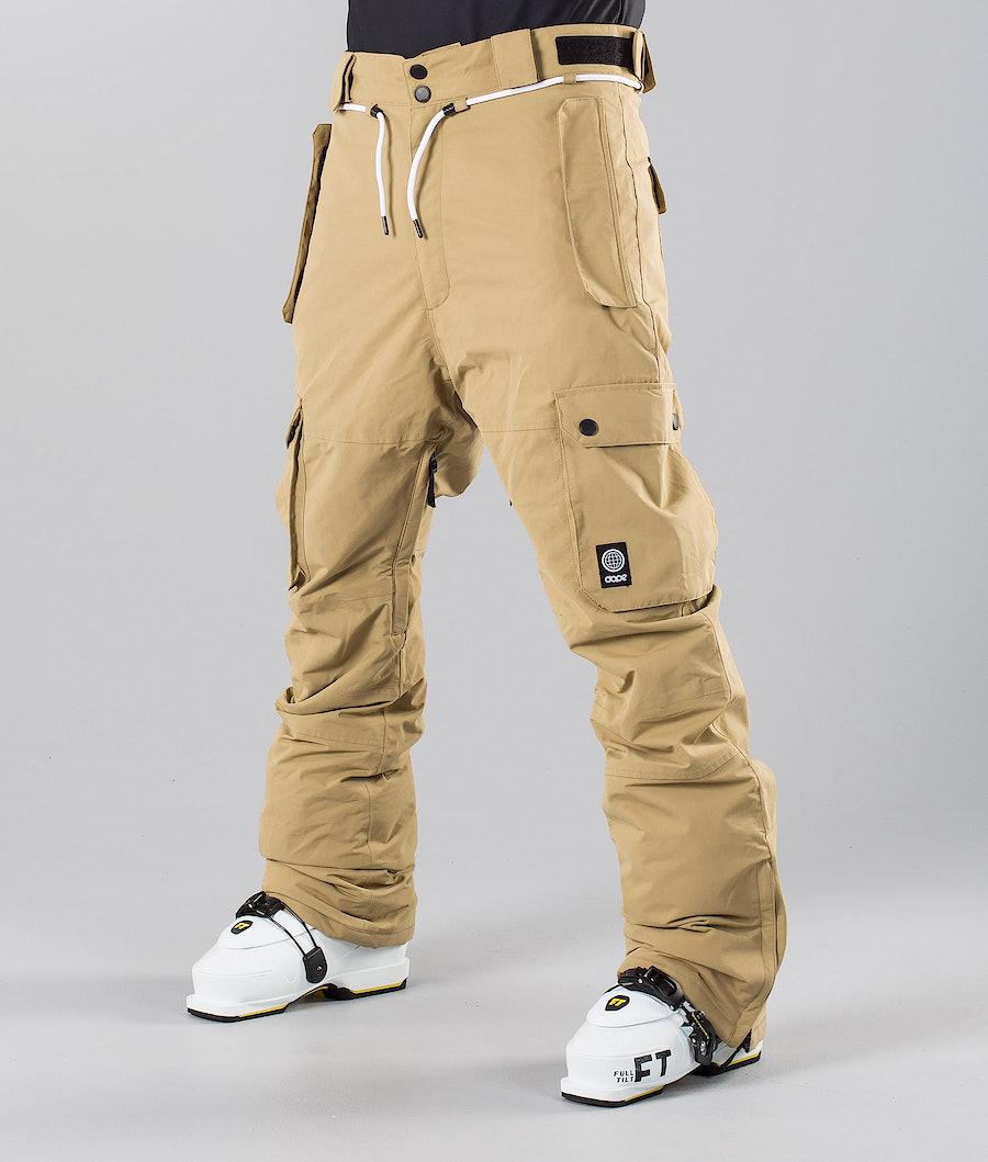 Dope Iconic 18 Ski Pants Khaki