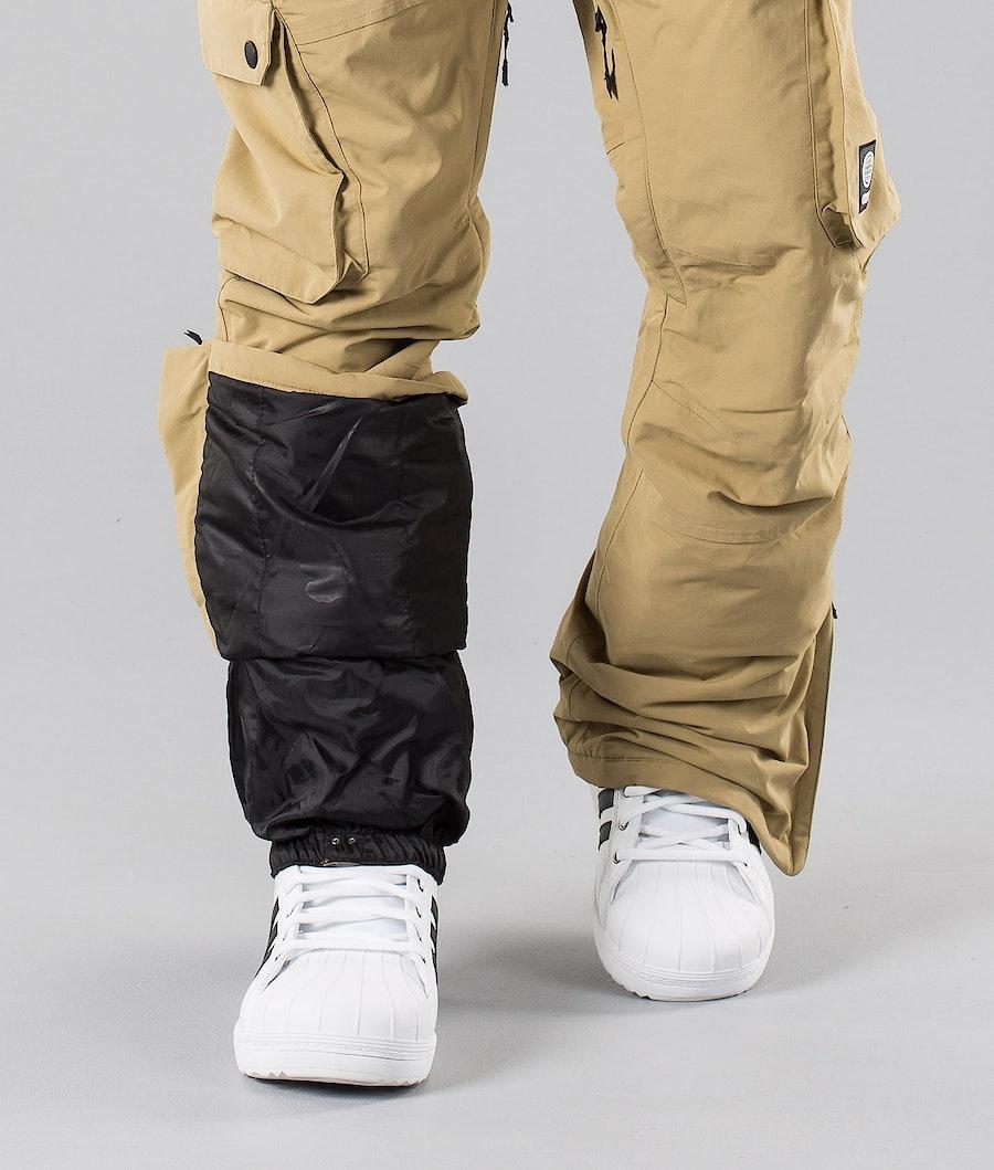 Dope Iconic 18 Snowboard Pants Khaki