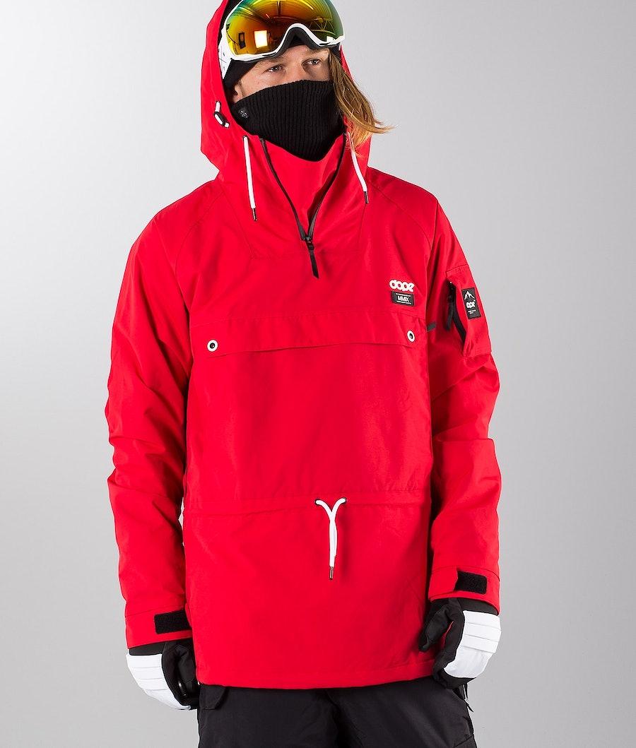 Dope Annok 18 Renewed Snowboardjacka Red