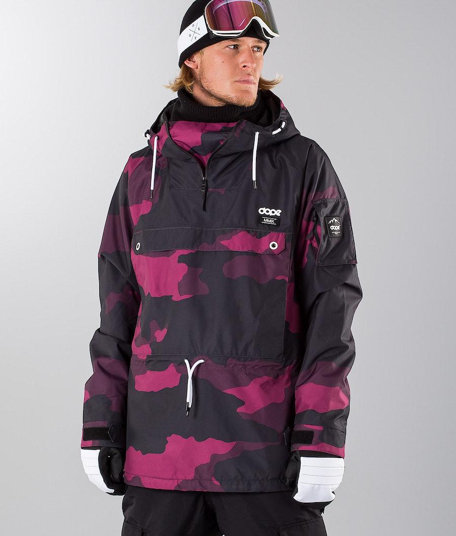 Dope Annok 18 Snowboardjacke Purple Camo