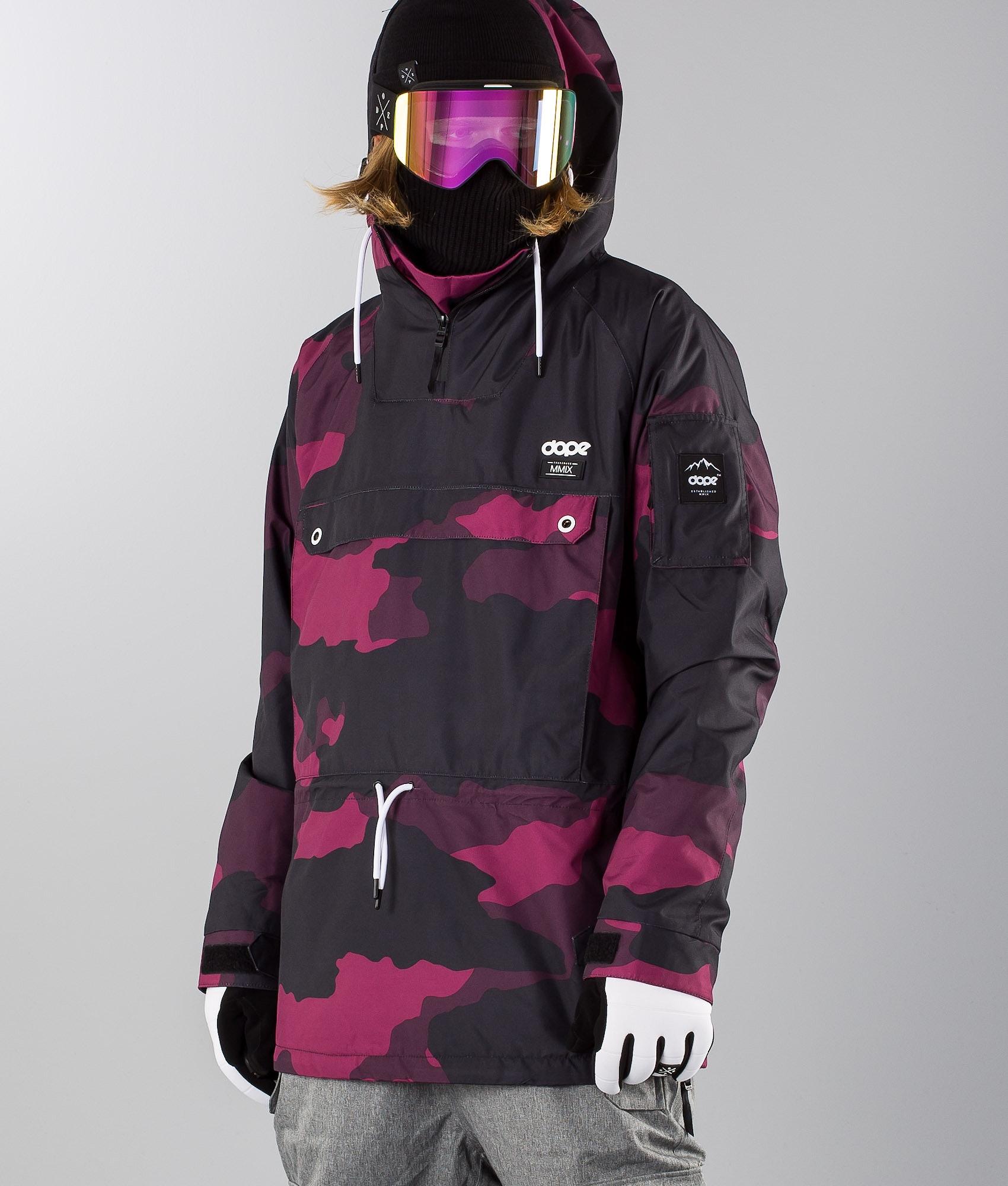 9c56c11d Dope Annok Skijakke Purple Camo - Ridestore.no