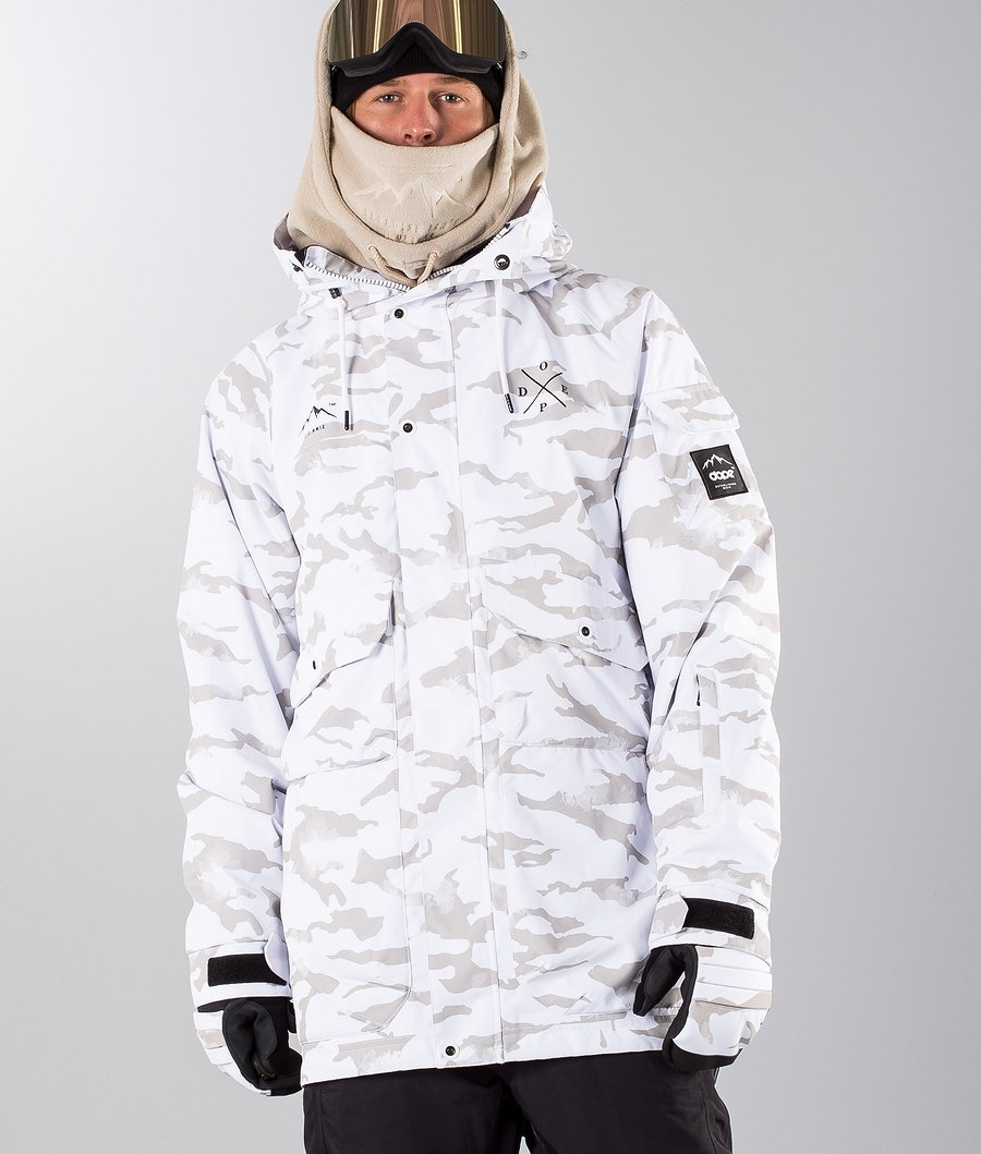 Dope Hoax II Renewed Snowboardjacka Whiteout