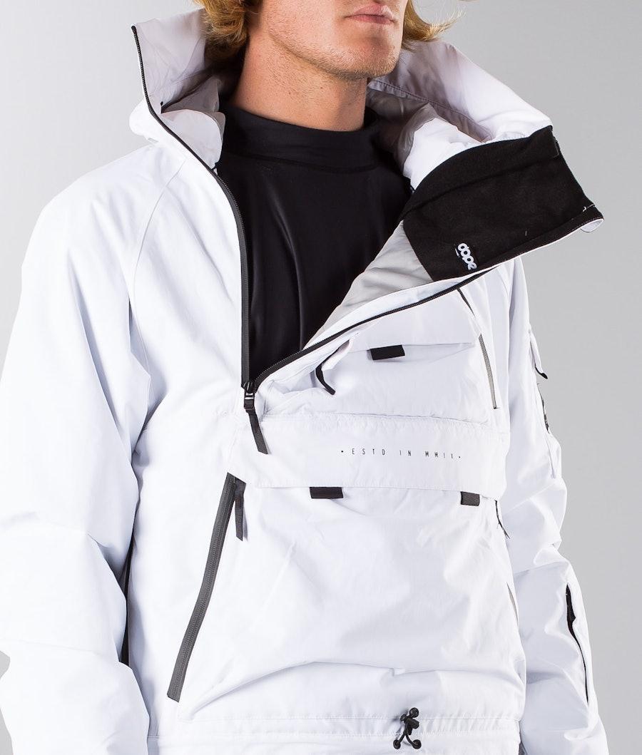 Dope Akin 18 Snowboardjacka White