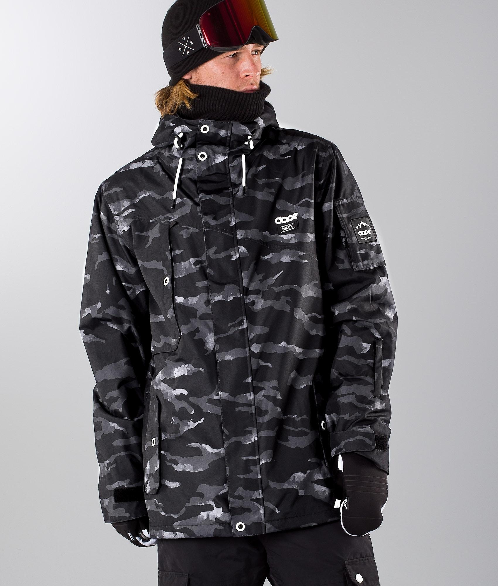 59d073e3 Dope Adept Ski Jacket Black Camo - Ridestore.com
