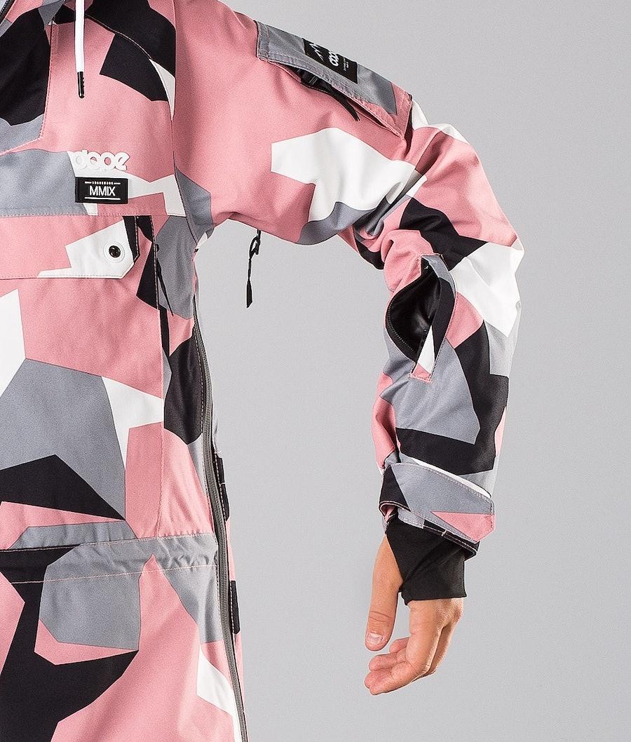 Dope Annok W 18 Snowboardjacka Dam Pink Camo