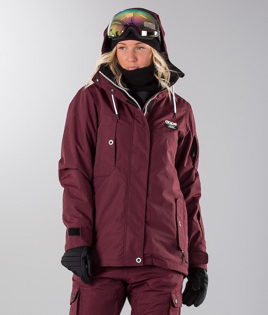Dope Adept W 18 Skijakke Burgundy