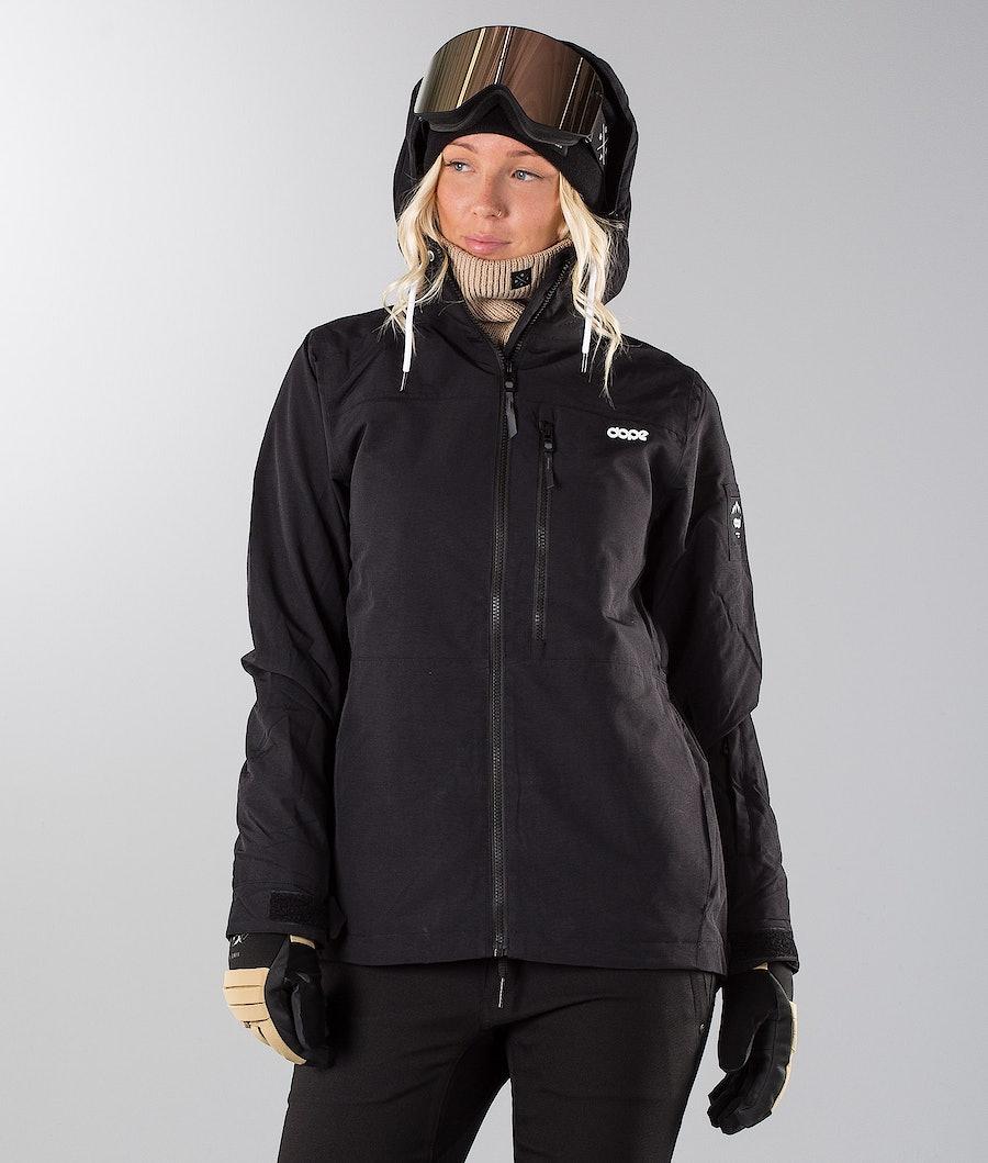 Dope Divine 18 Renewed Snowboard Jacket Black