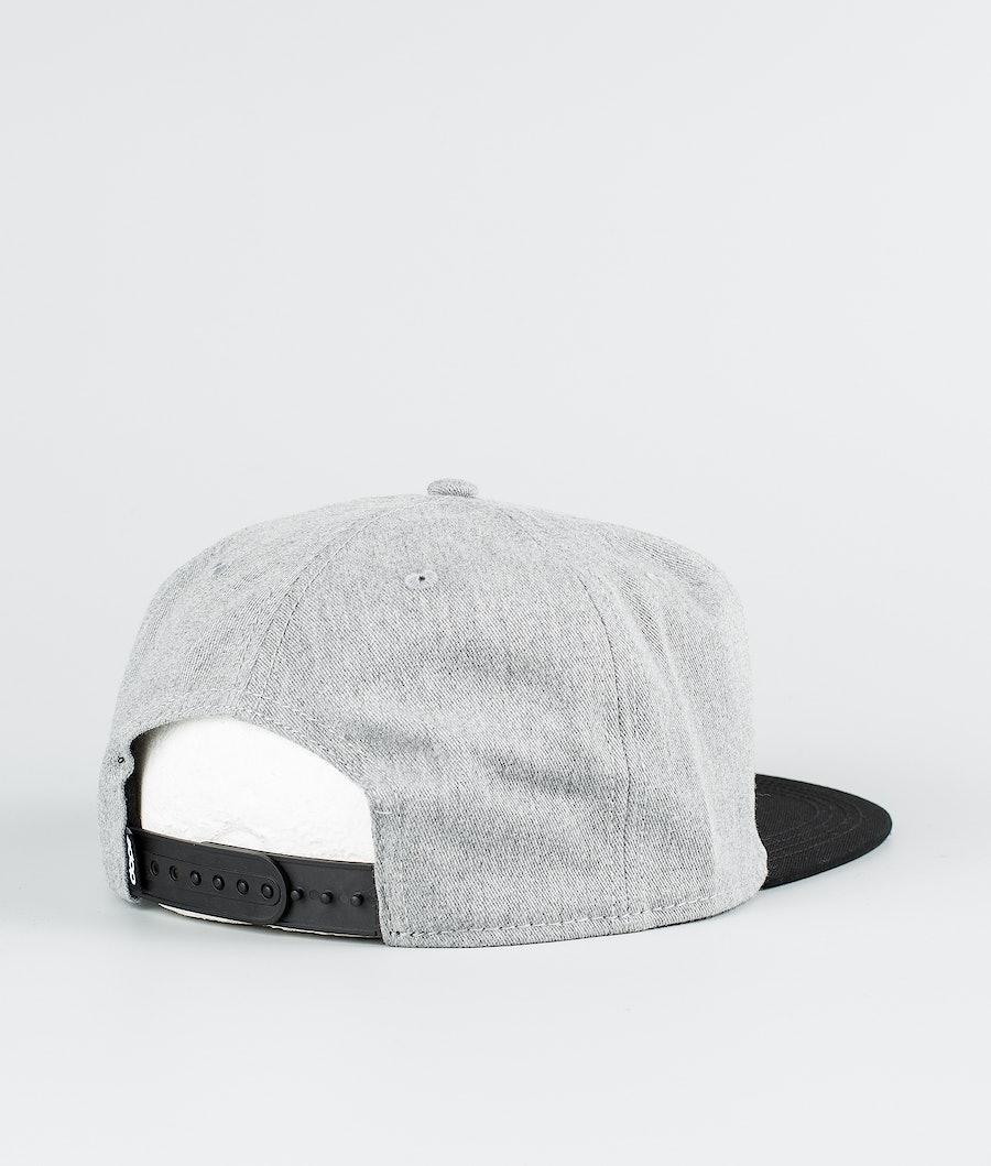 Dope OG Caps Grey Melange/ Black