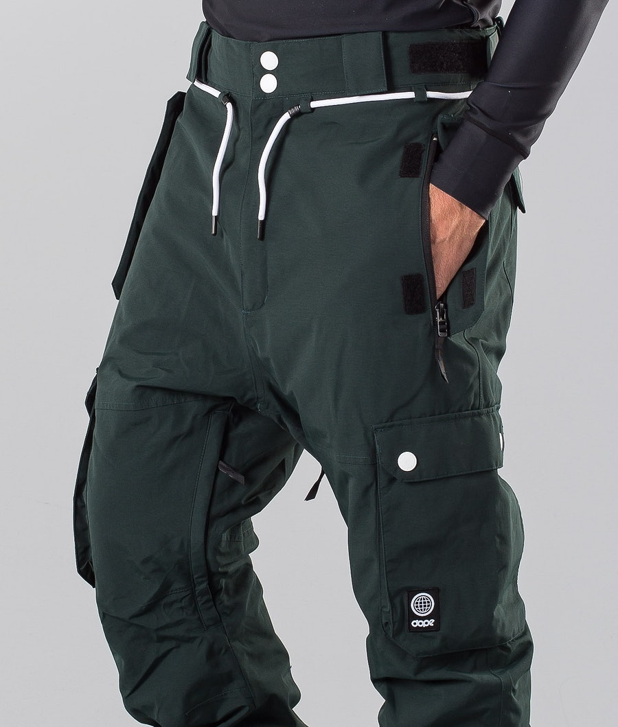 Dope Iconic 18 Snowboardbukse Green