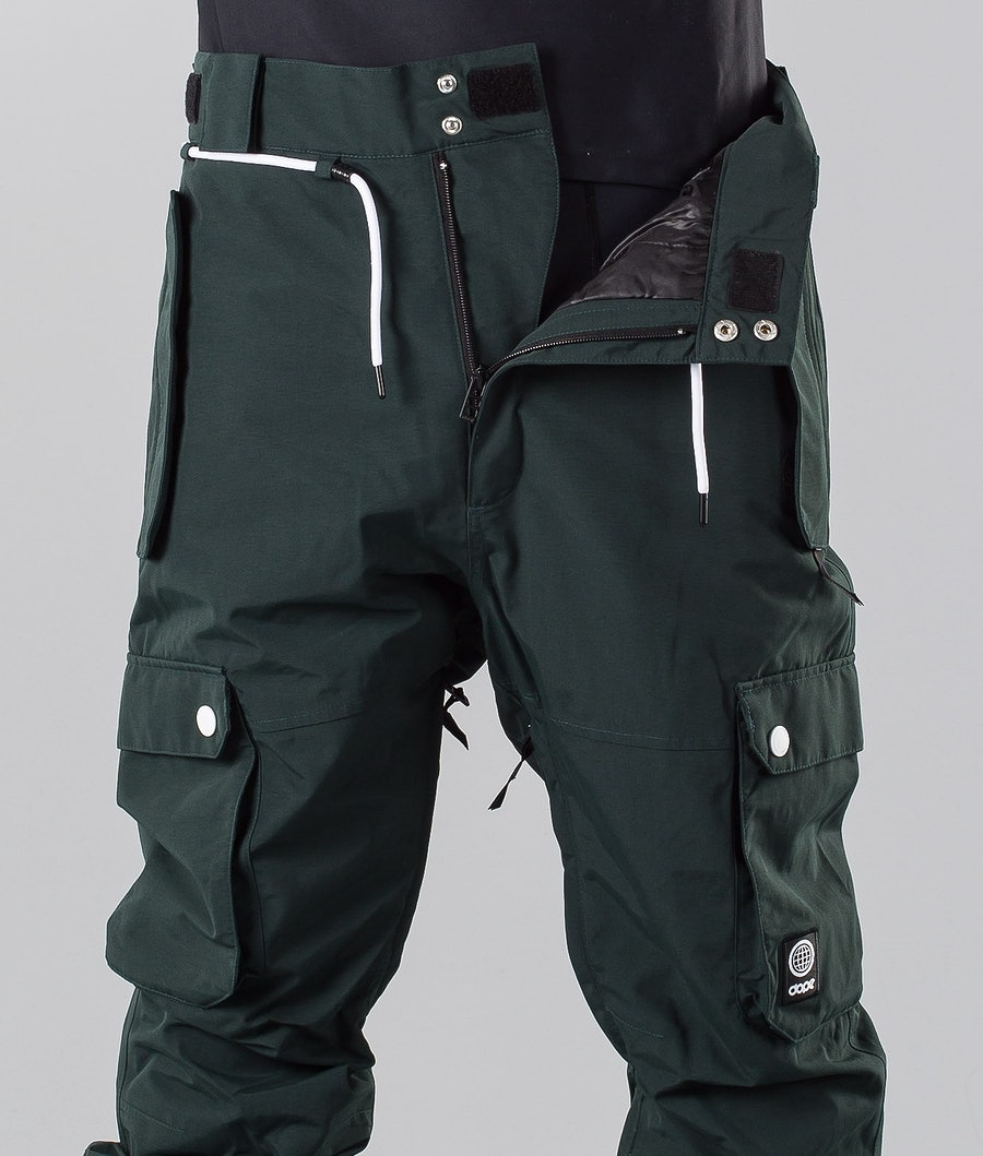 Dope Iconic 18 Snowboard Pants Green