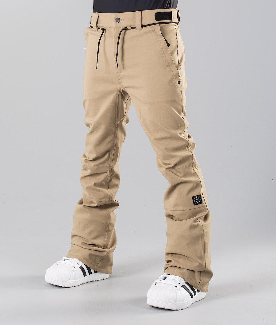 Dope Tiger Pantalon de Snowboard Khaki
