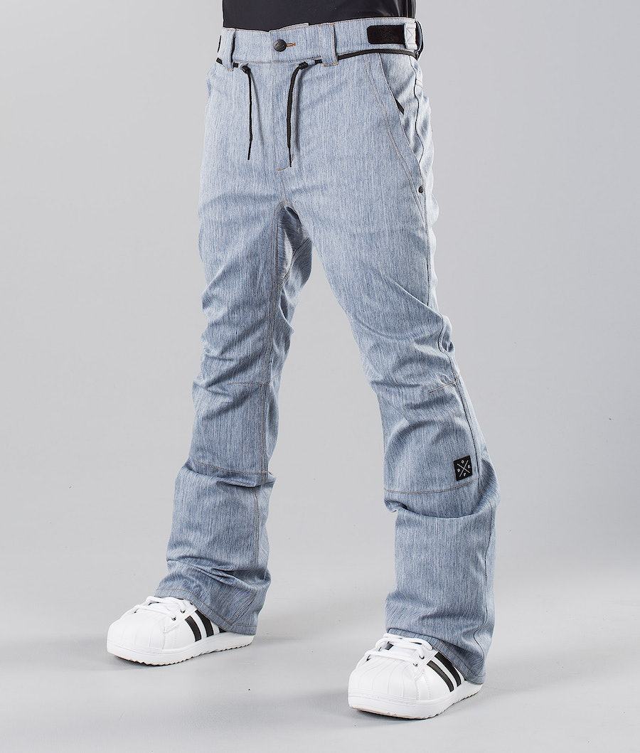 Dope Tiger Pantalon de Snowboard Denim