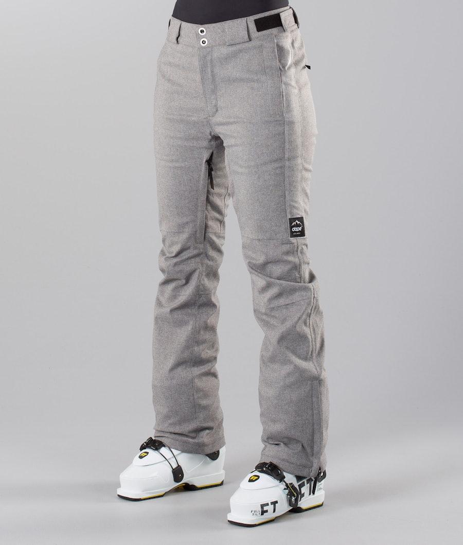 Dope Con 18 Pantaloni da sci Grey Melange