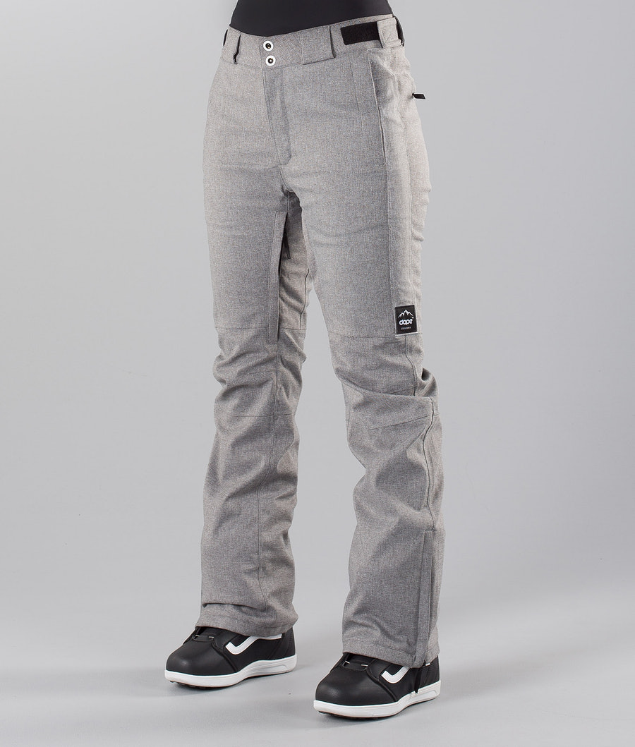 Dope Con 18 Snow Pants Grey Melange