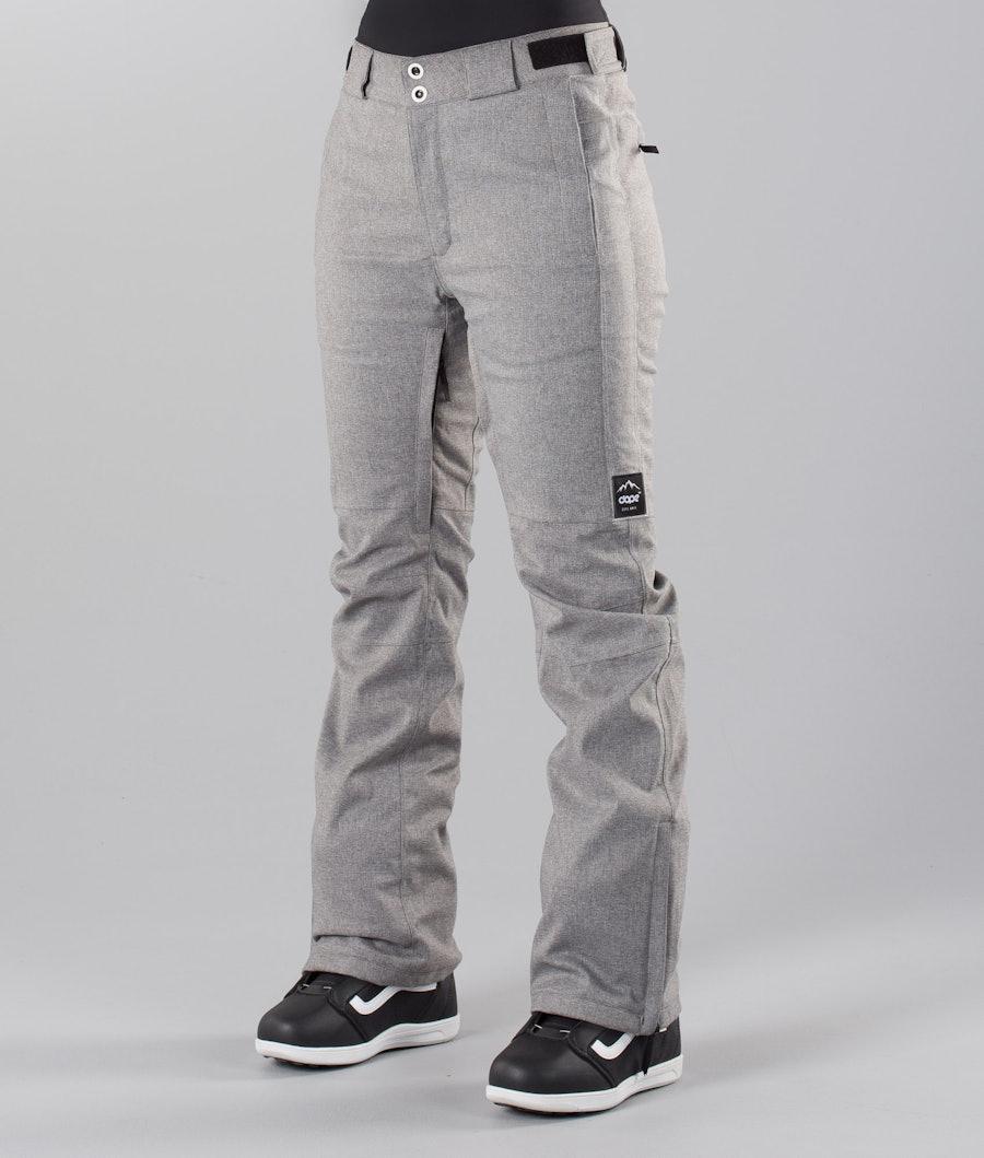 Dope Con 18 Sneeuw broek Grey Melange