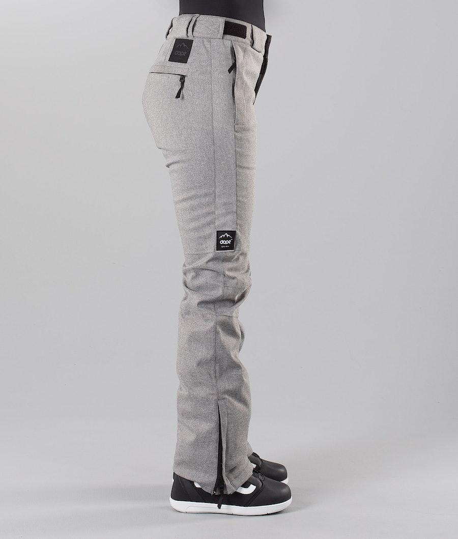 Dope Con 18 Snowboardbukse Dame Grey Melange