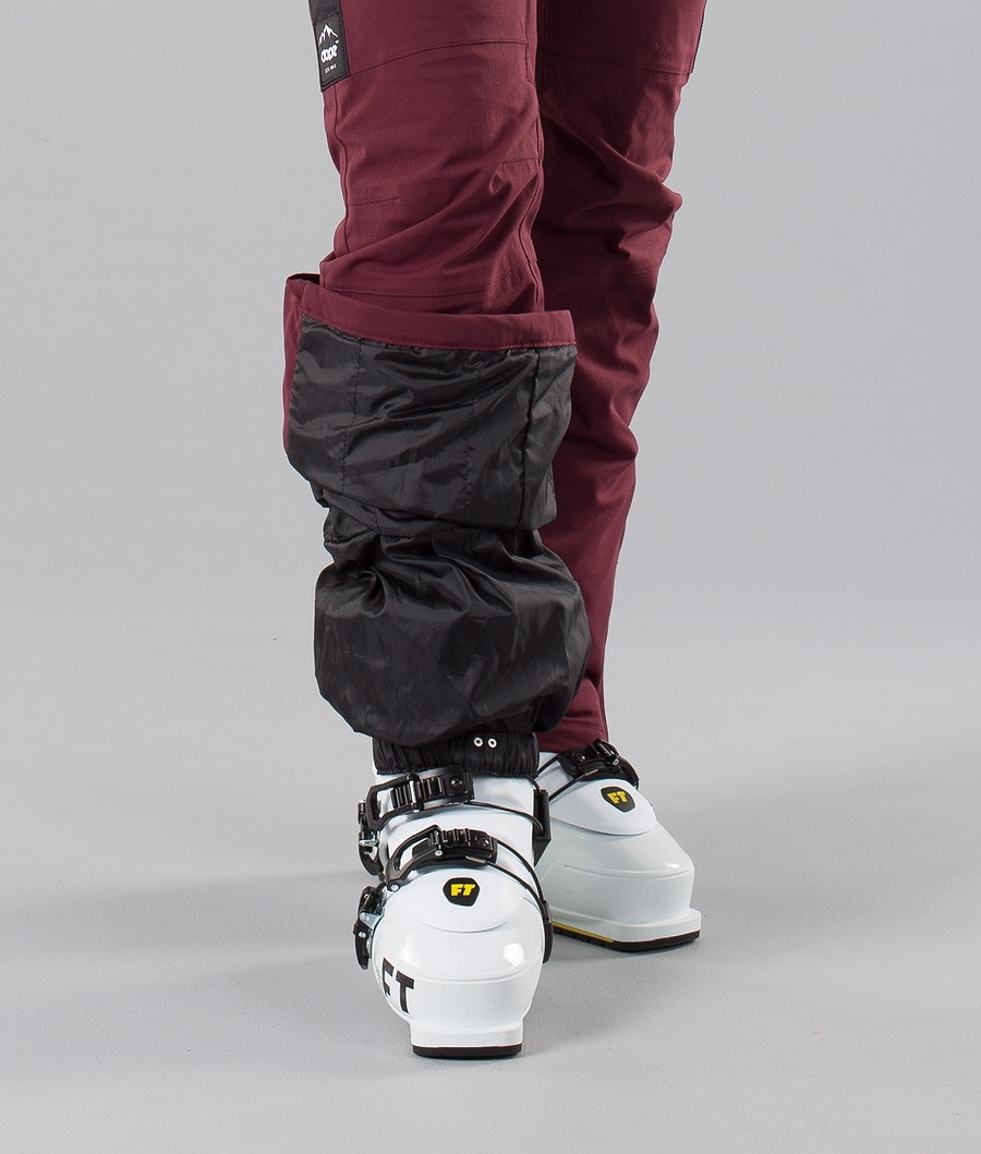 Dope Con 18 Women's Ski Pants Burgundy