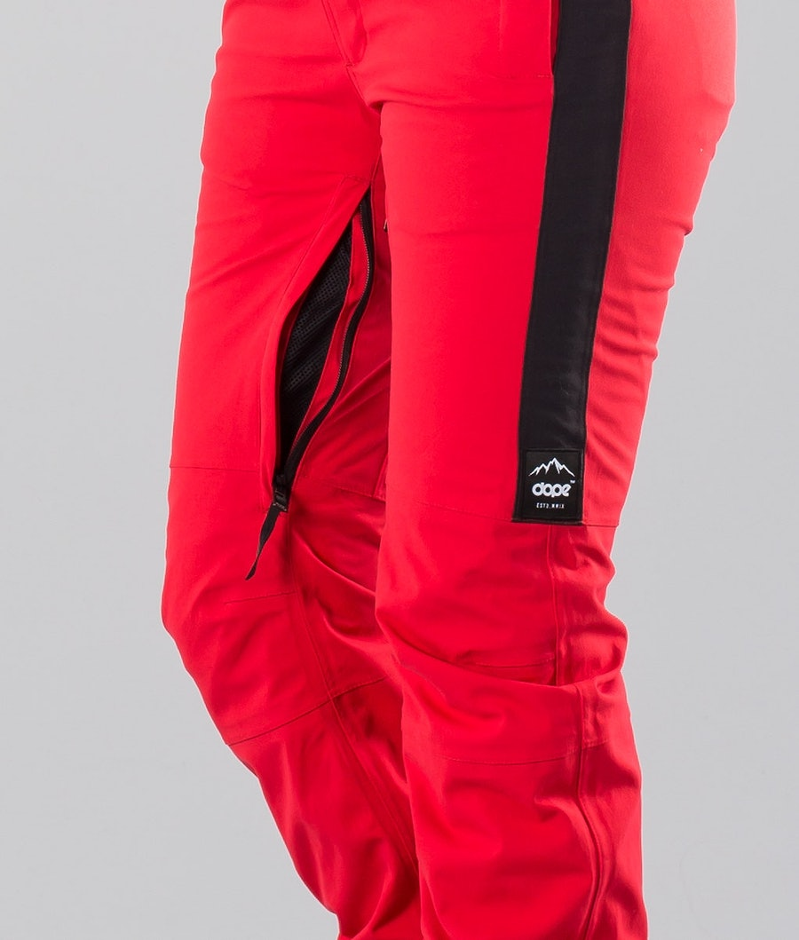 Dope Con 18 Women's Ski Pants Red