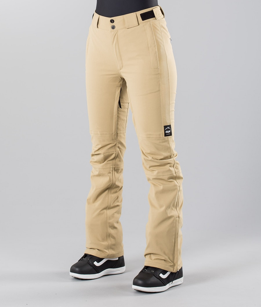 Dope Con 18 Snowboard Pants Khaki