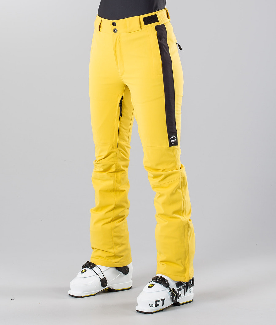 Dope Con 18 Skihose Yellow