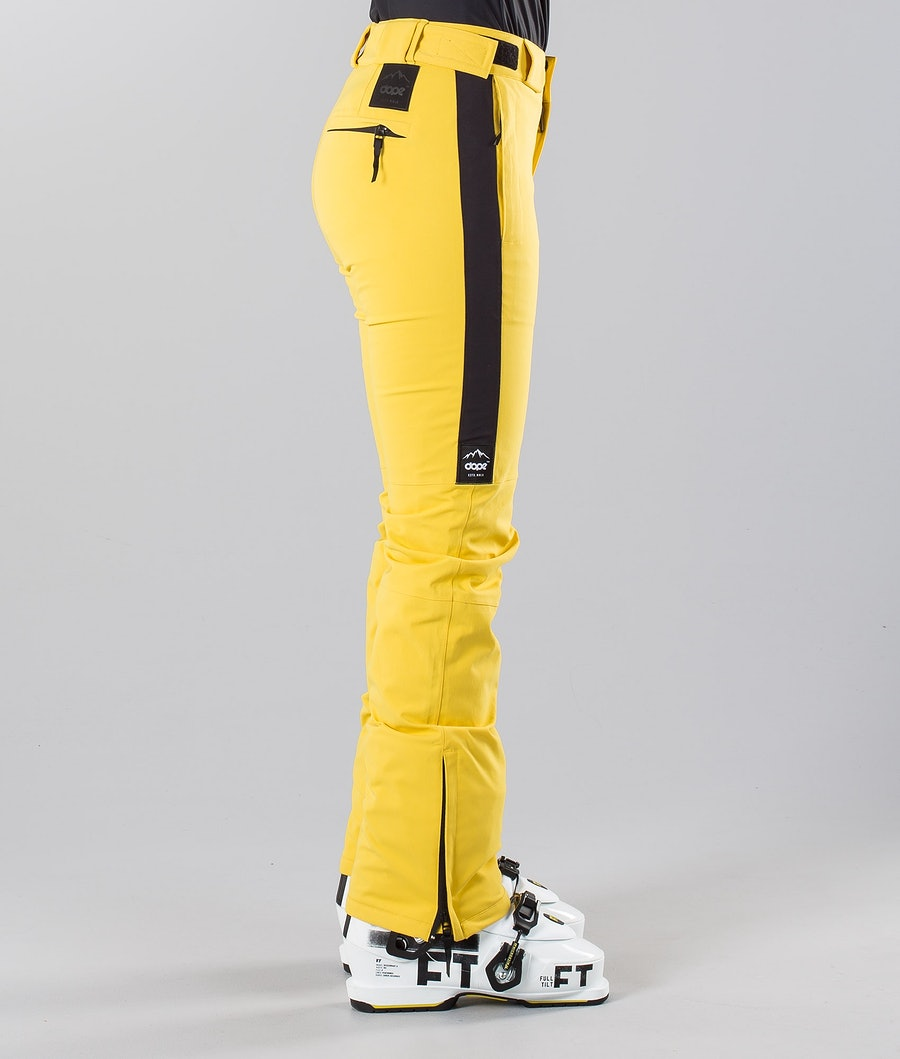 Dope Con 18 Women's Ski Pants Yellow
