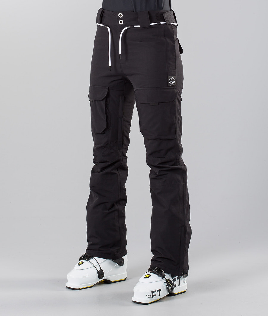 Dope Grace 18 Pantalon de Ski Black