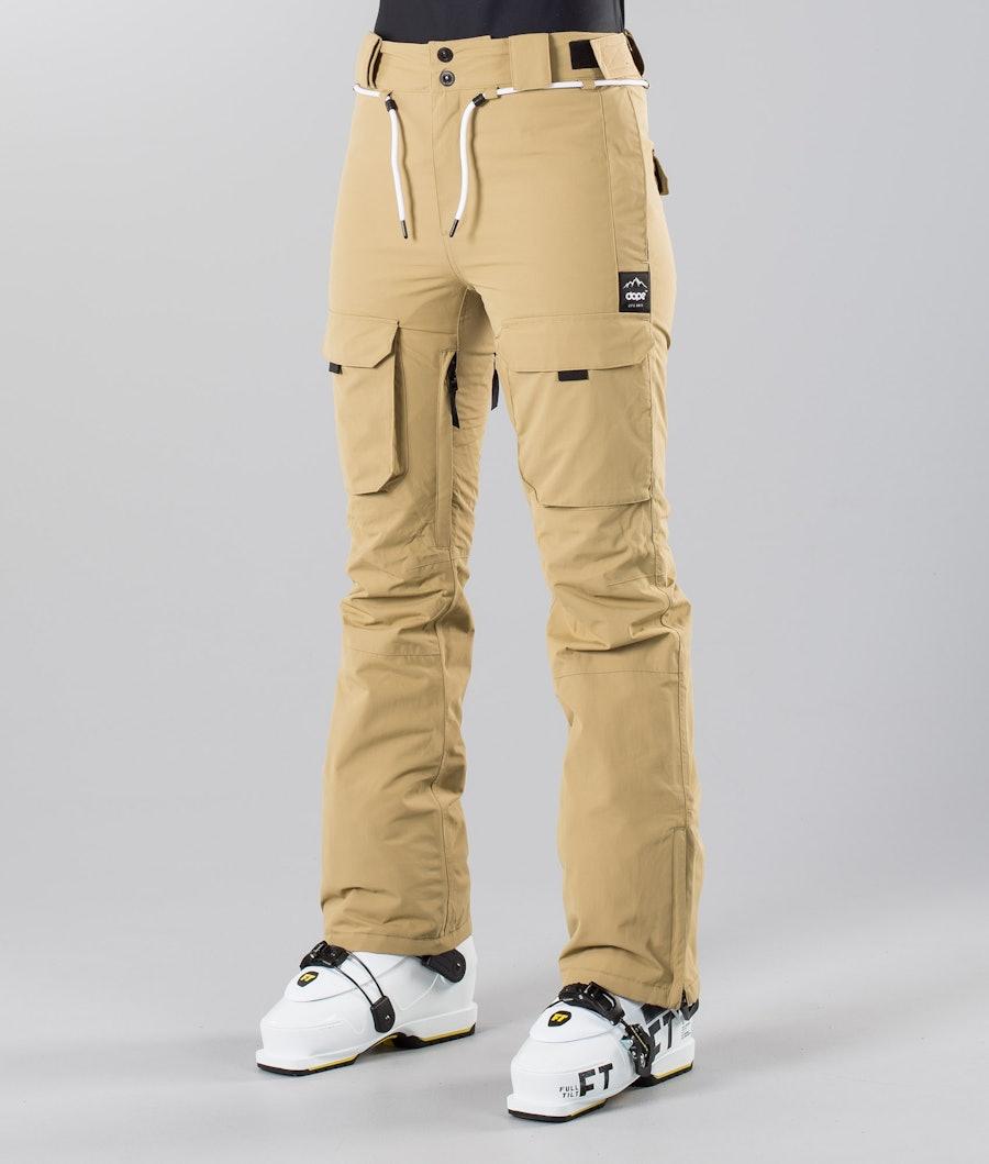 Dope Grace 18 Ski Pants Khaki