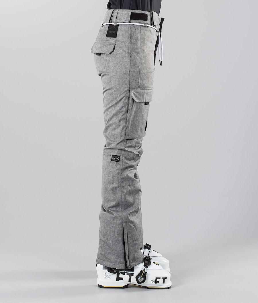 Dope Grace 18 Women's Ski Pants Grey Melange