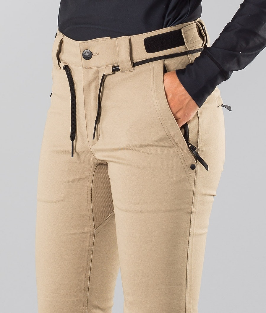 Dope Tigress 18 Women's Ski Pants Khaki
