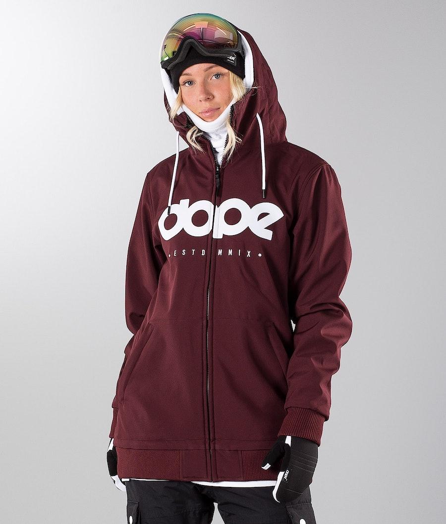 Dope Standard DO Women's Ski Jacket Burgundy
