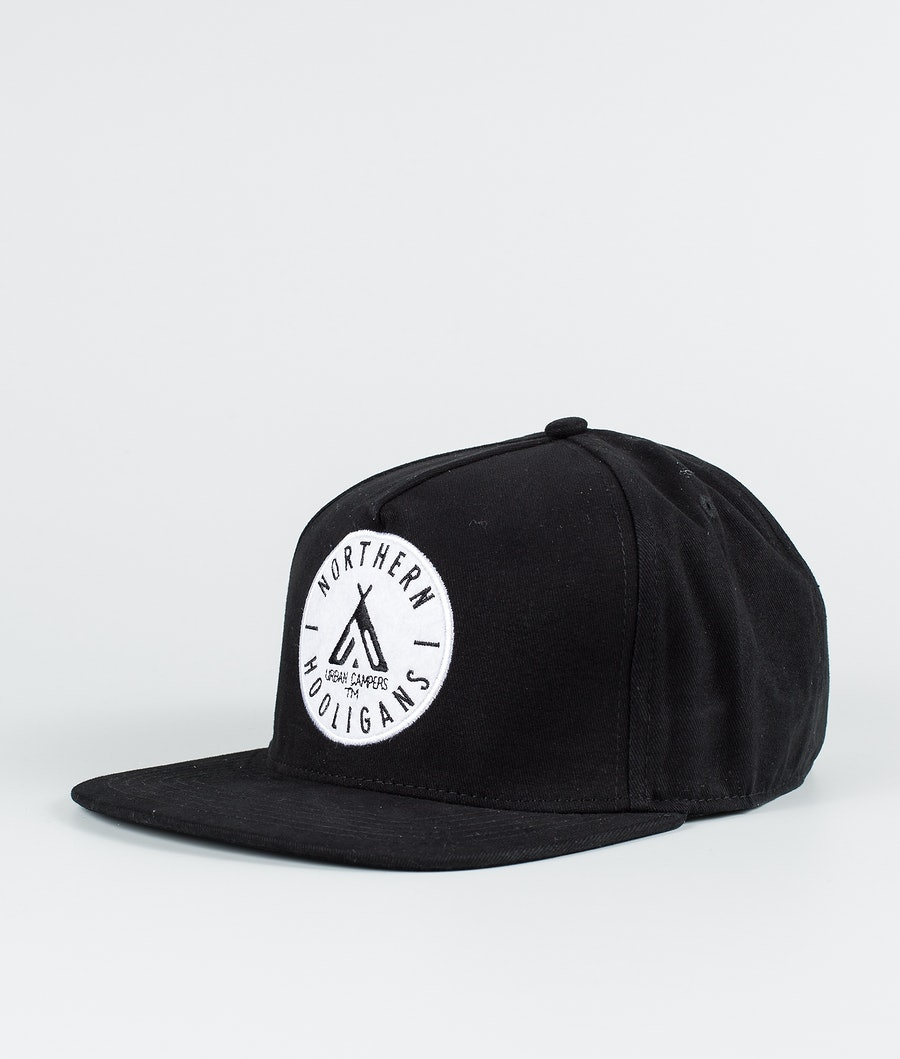 Northern Hooligans Urban Campers Snapback Caps Black