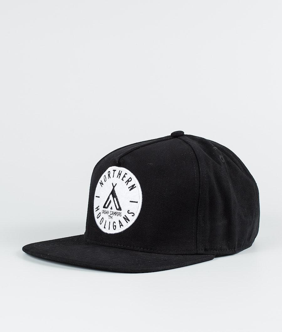 Northern Hooligans Urban Campers Snapback Caps Black