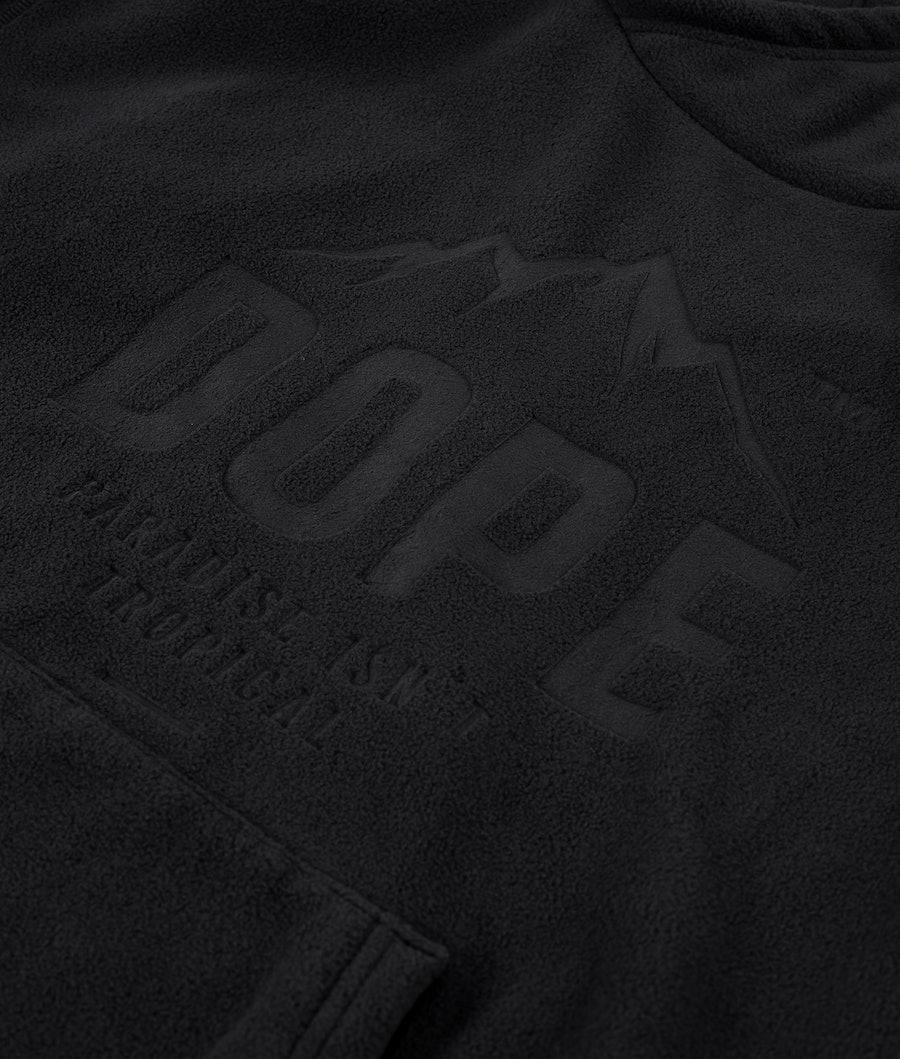 Dope Cozy Hood Black