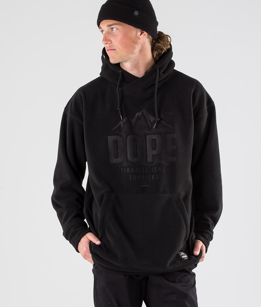 Dope Cozy Snow Paita Black