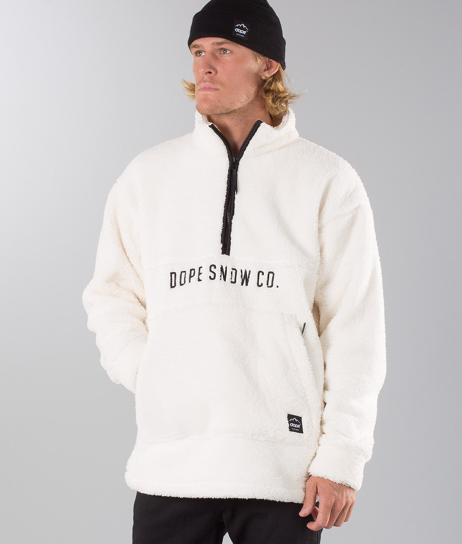 Dope Pile Snow Sweater White