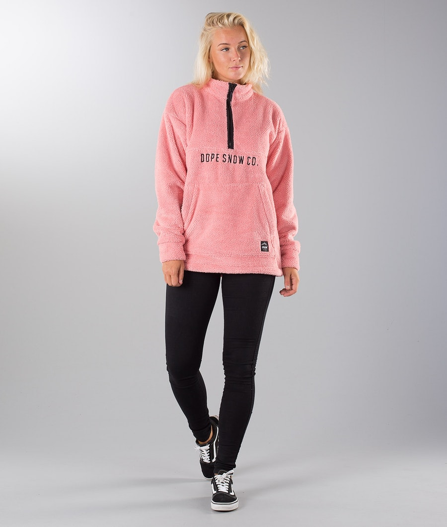Dope Pile Women's Snow Sweater Pink