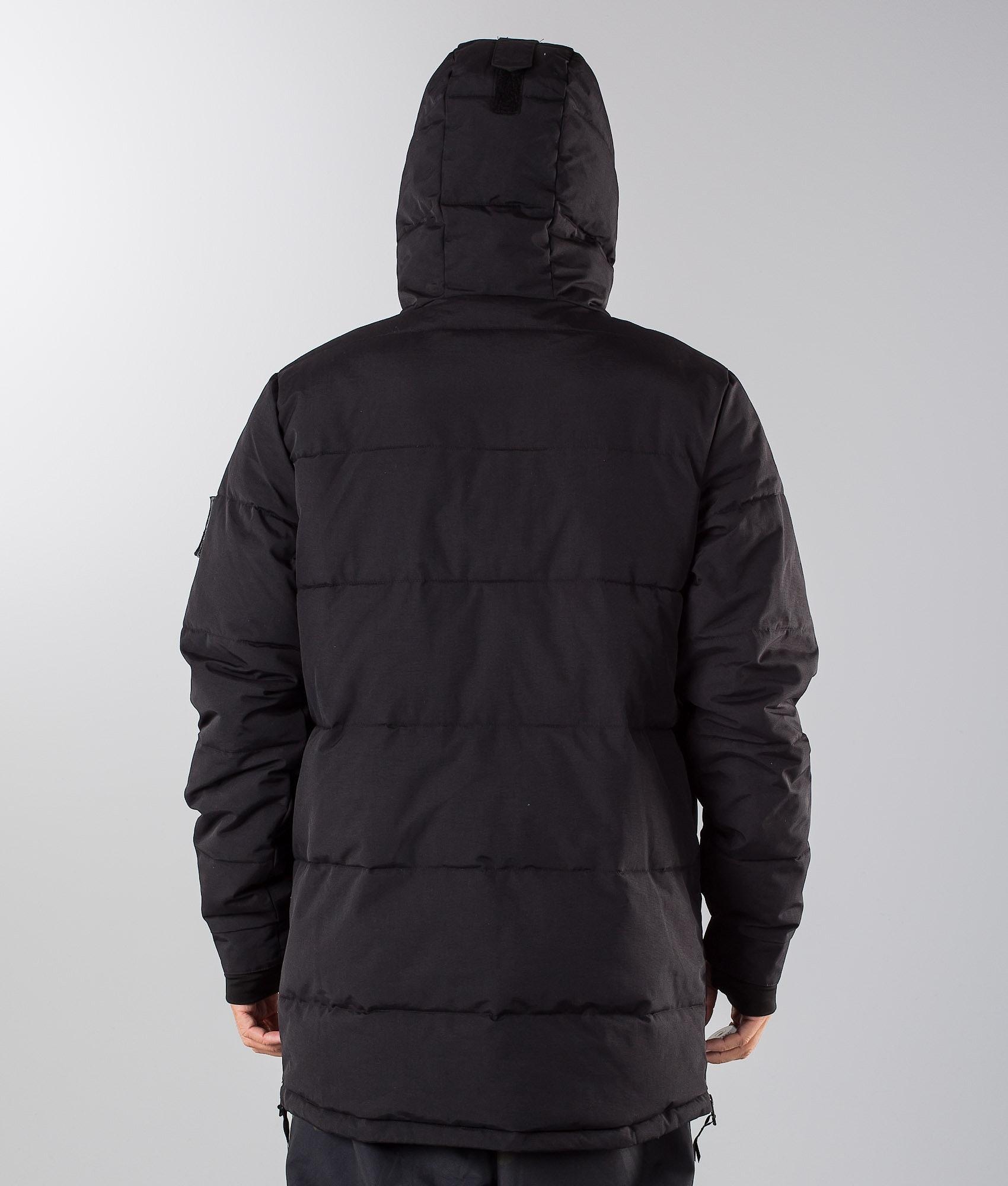 463216e1b8e3 Dope Puffer Snowboard Jacket Black - Ridestore.com