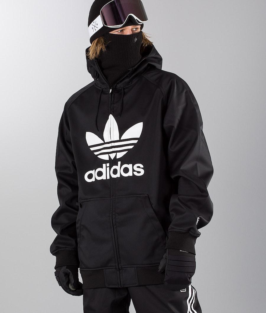 Adidas Snowboarding Greeley Snowboard Jacket Black/White