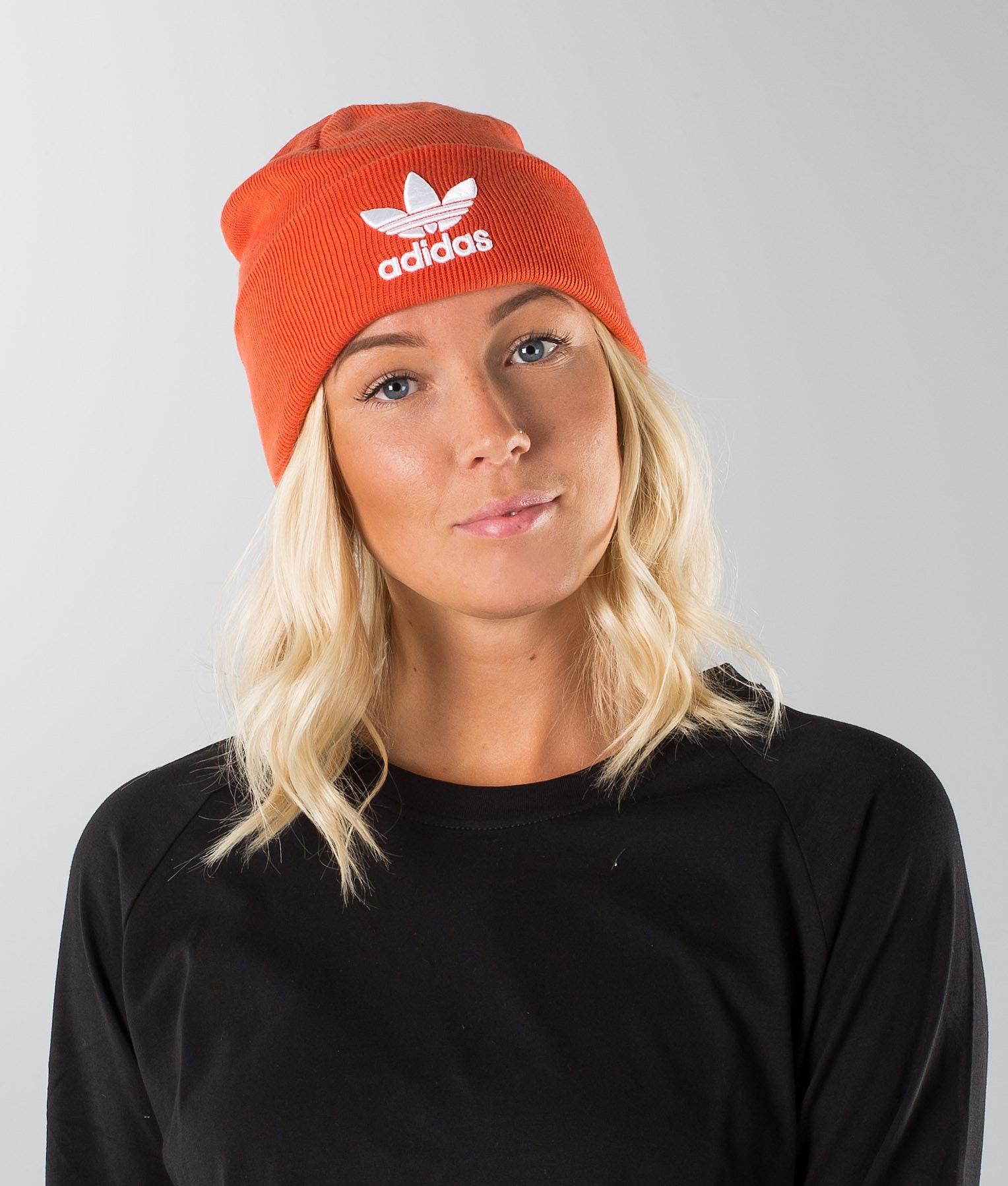 b2ff7b033c362 Adidas Originals Trefoil Beanie Raw Amber