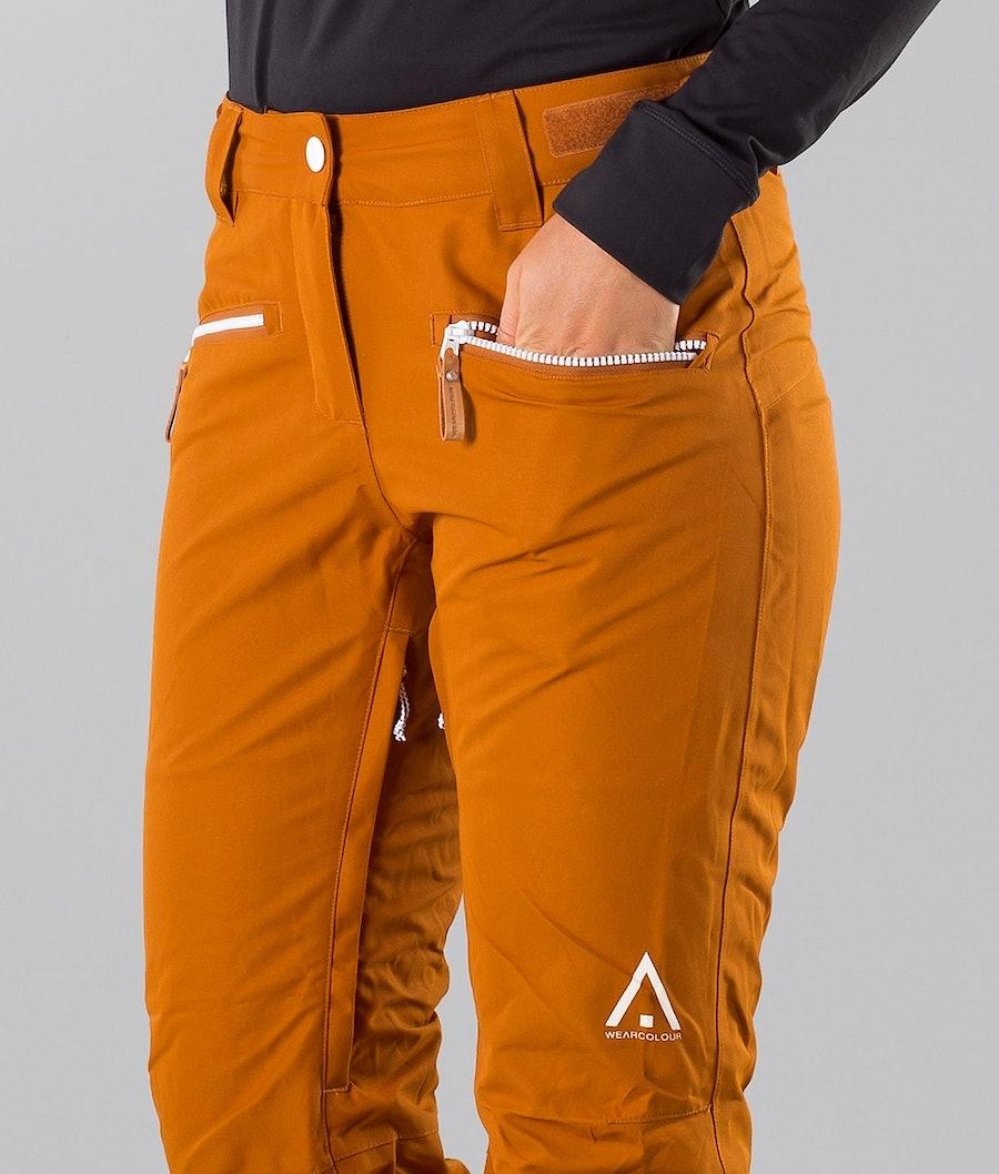 WearColour Cork Pantalon de Snowboard Femme Adobe