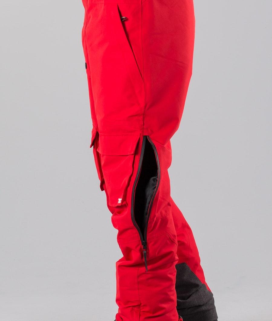 Montec Fawk Snøscooterbukse Red