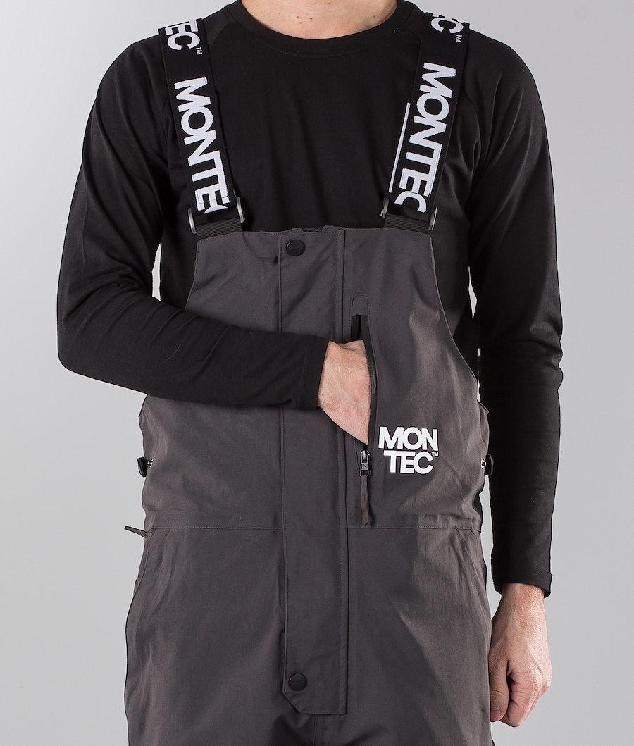Montec Mount Snøscooterbukse Dark Grey