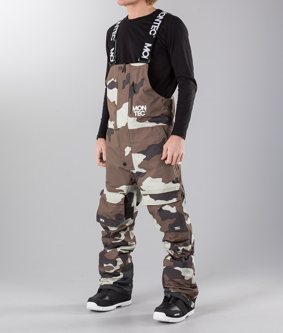 Montec Mount Snowmobile Pant Earth Camo