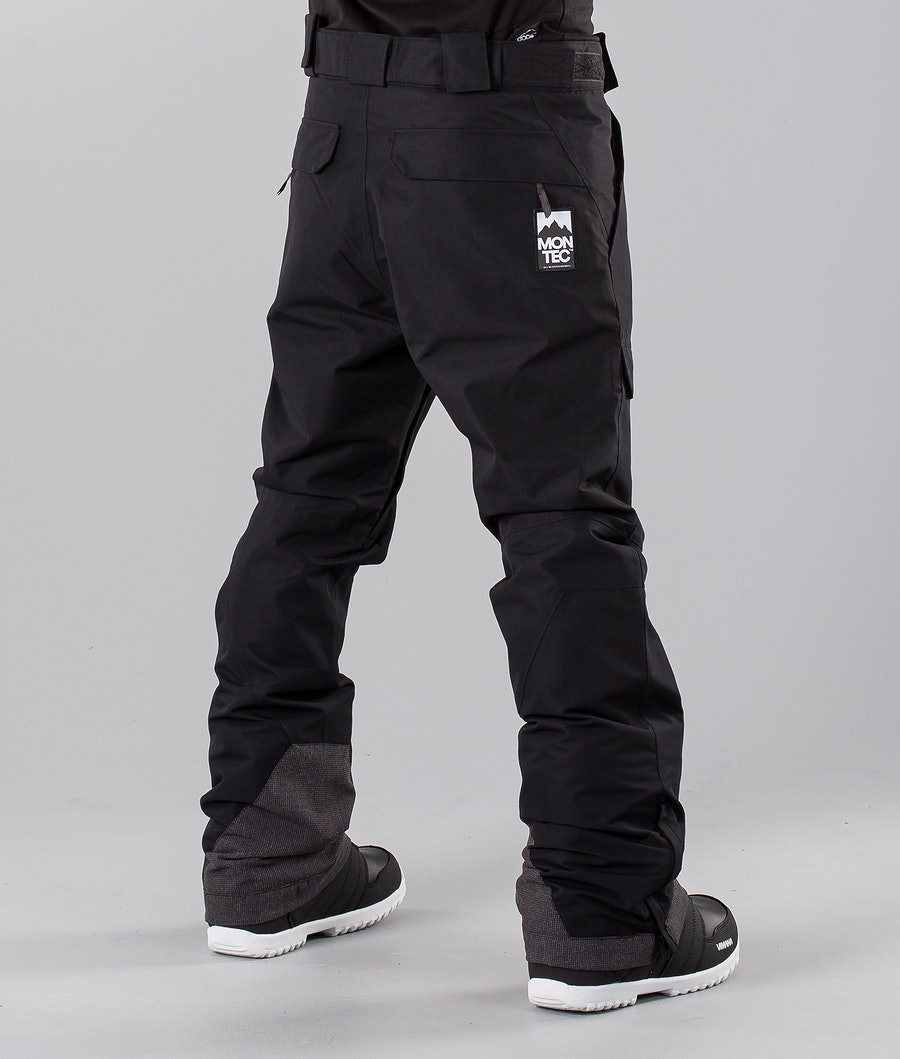 Montec Dune Snowmobile Pant Black