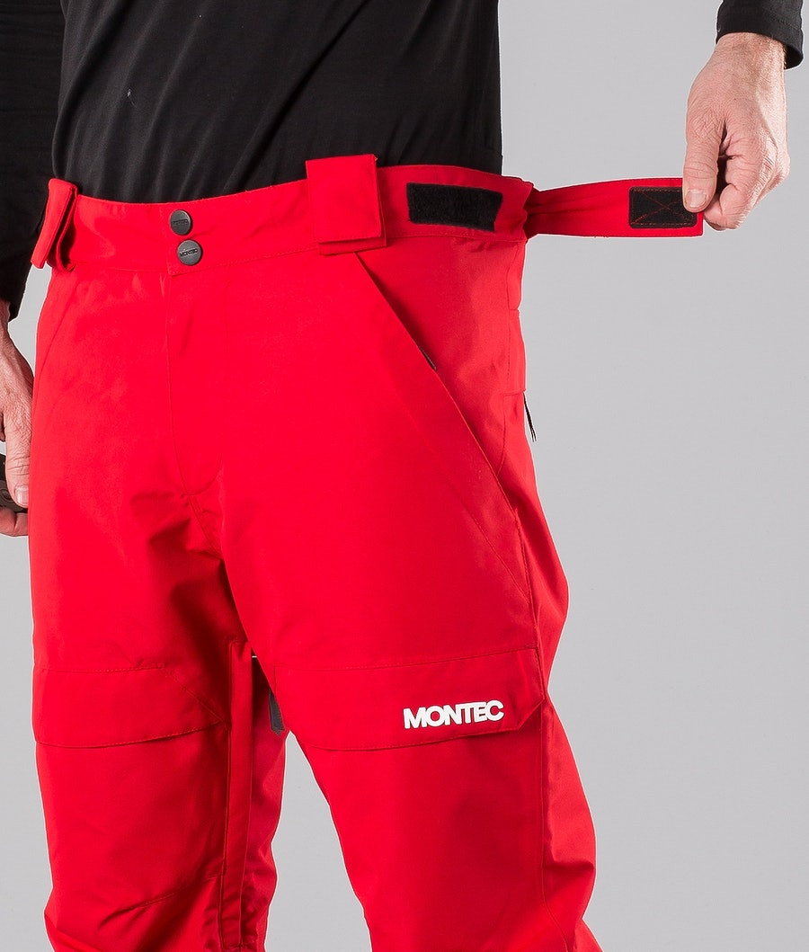 Montec Dune Snowmobile Pant Red