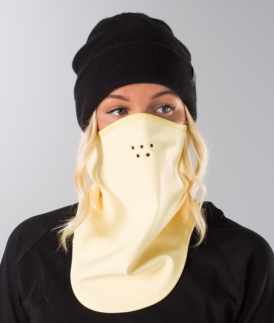 Dope Stanton Women's Facemask Faded Yellow