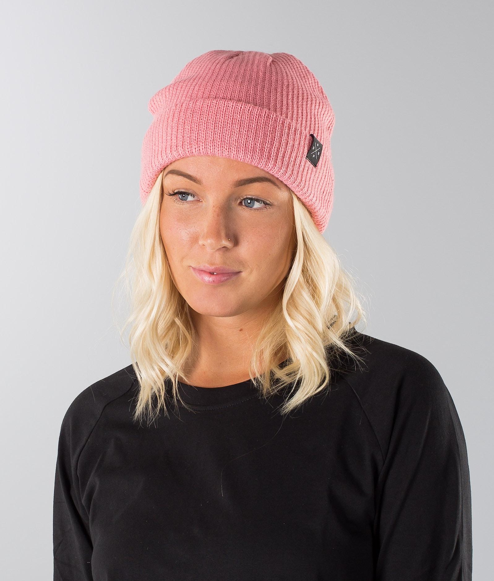 a9d06e65c4810 Dope Drifter Beanie Pink - Ridestore.com