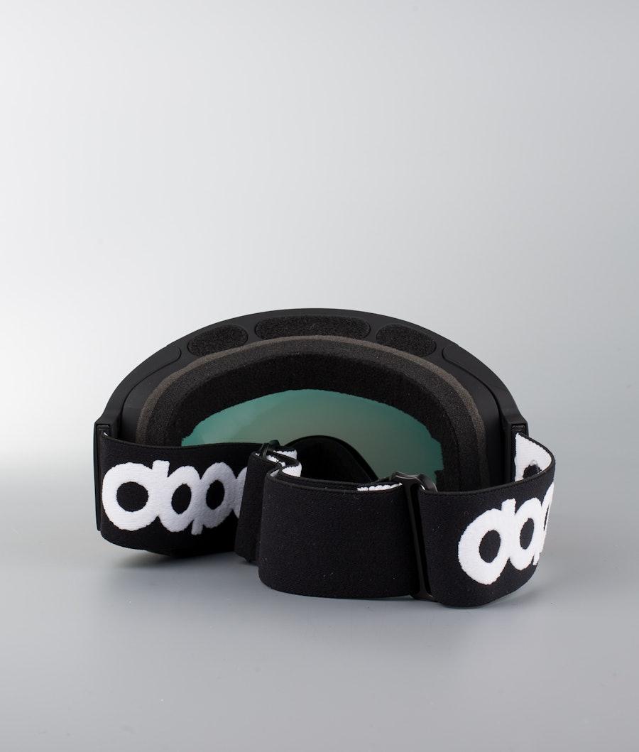 Dope Sphere OG Skidglasögon Black W/Black Red Mirror