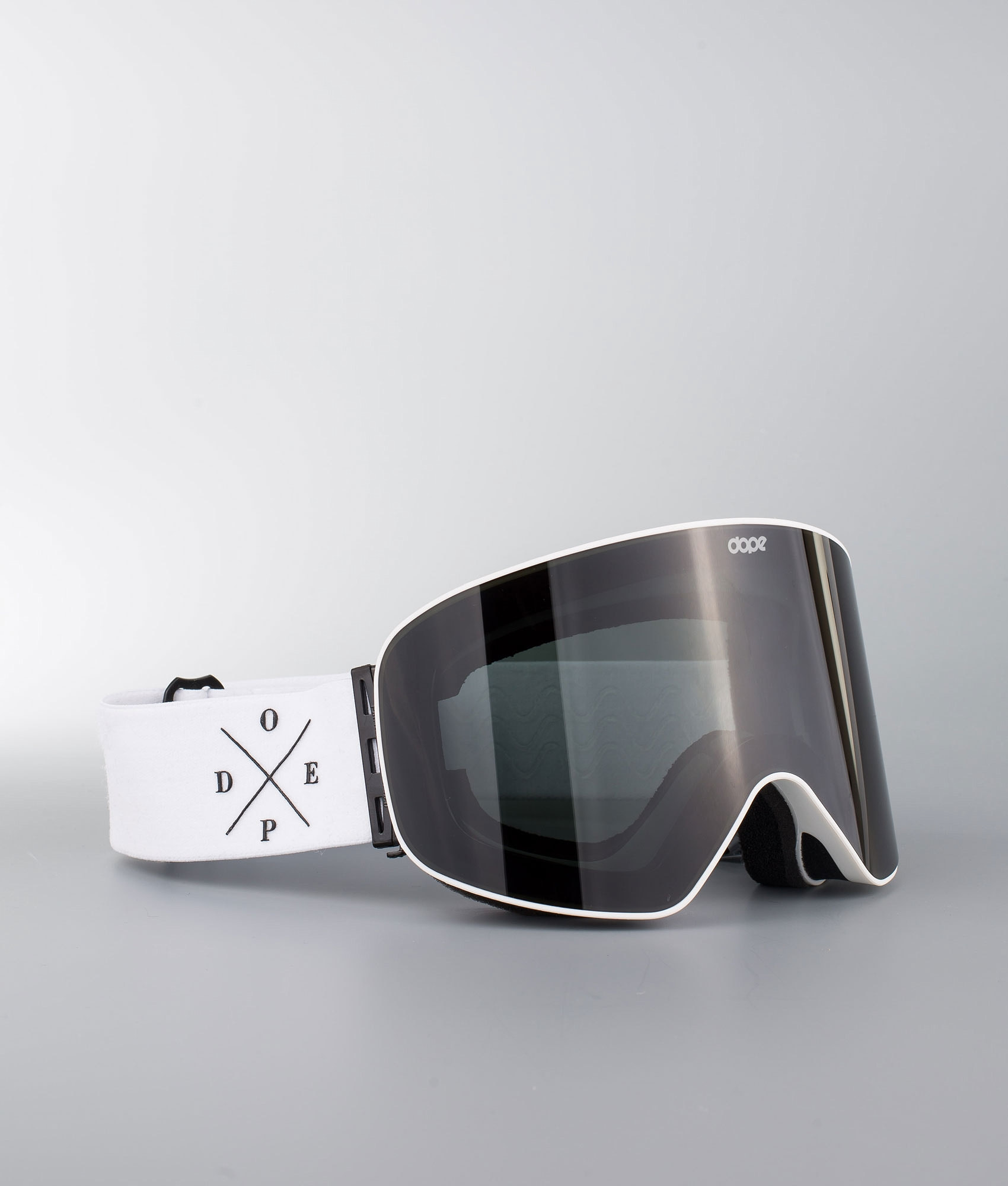 b1148019f Dope Flush 2X-UP Skibriller White W/White Black
