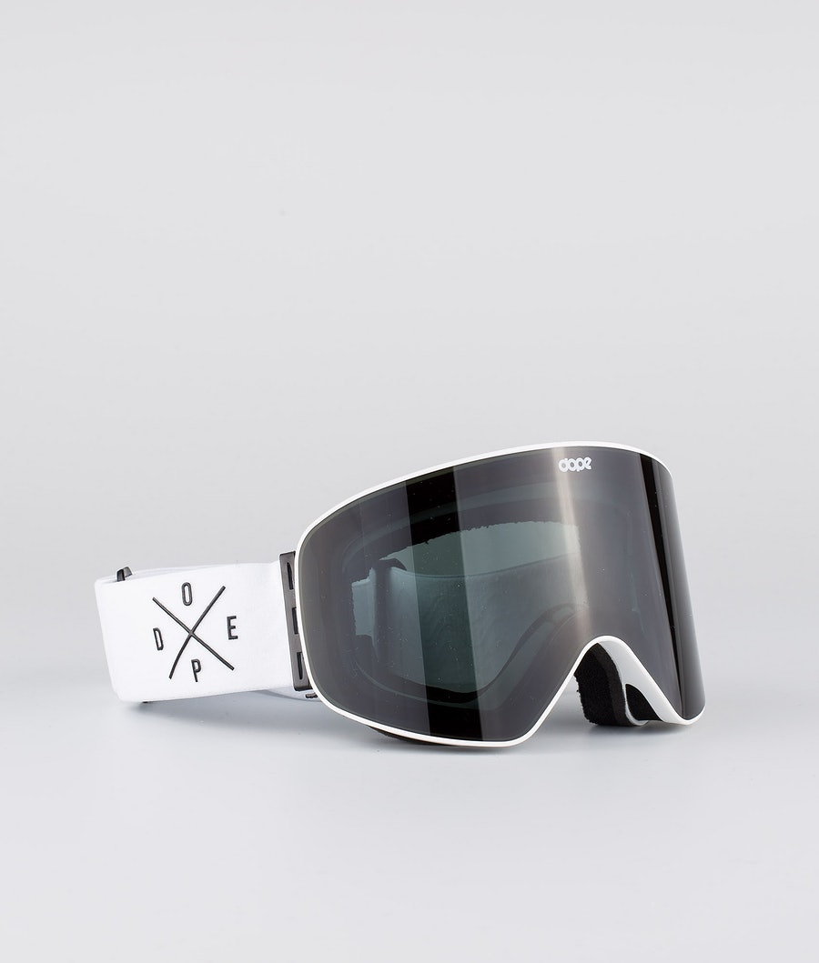 Dope Flush 2X-UP Skibriller White W/White Black